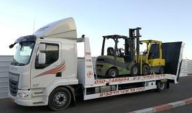 גרר משאיות ומלגזות